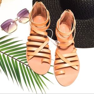 Mossimo Supply Co / Tan Gladiator Sandals